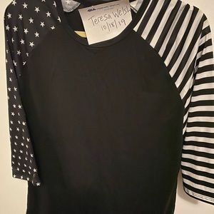 Lularoe Randy Stars and Stripes xl
